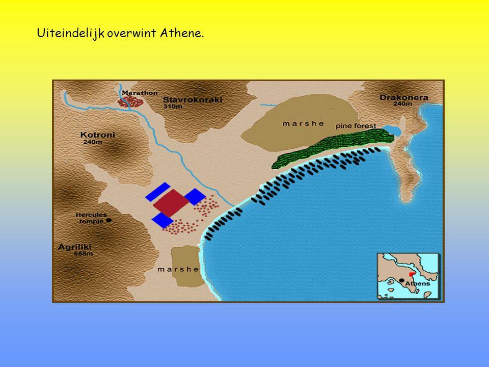 480 v.C.: Tweede strijd in de heuvels van de Thermopylen en de baai van Salamis Xerxes van Perzië  Leonidas van Sparta Themistocles van Athene