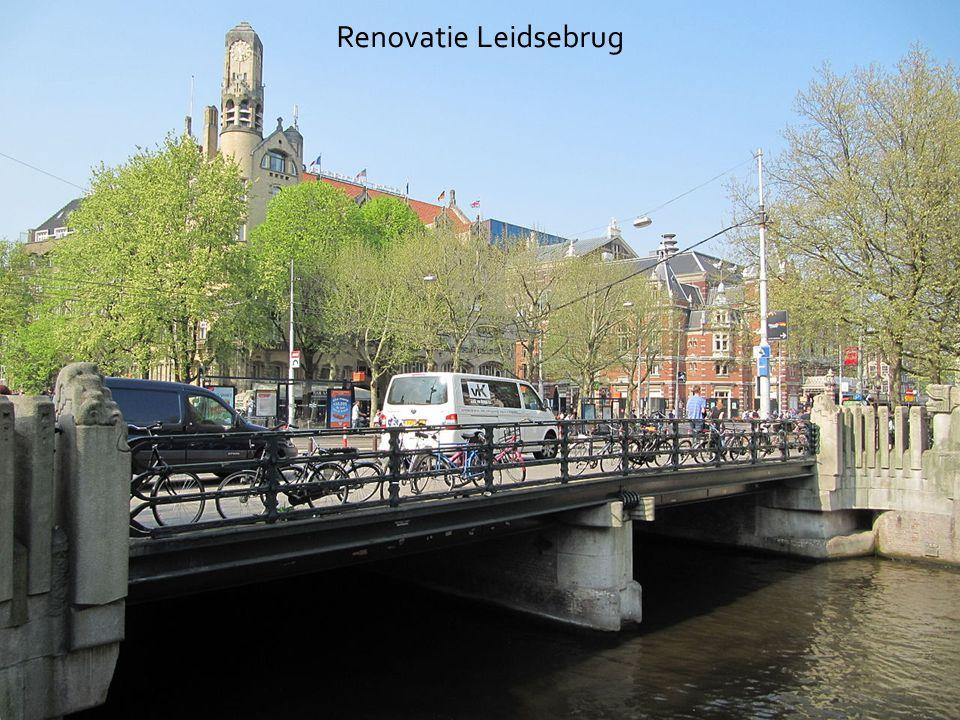 Het advies- en ingenieursbureau van Amsterdam Renovatie Leidsebrug