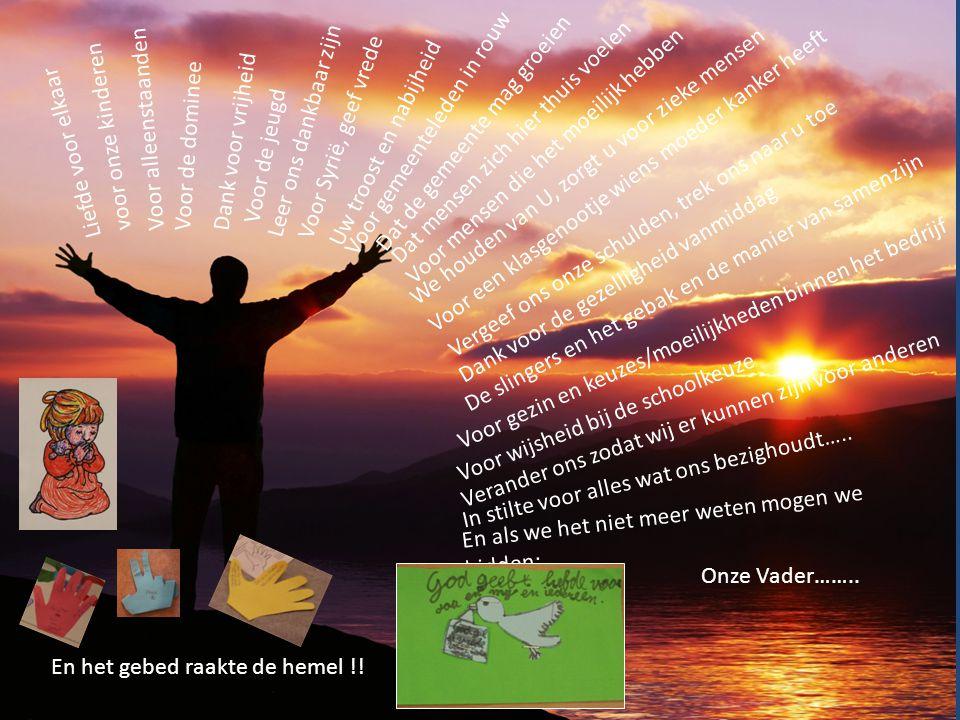 Tienduizend redenen tot dankbaarheid !