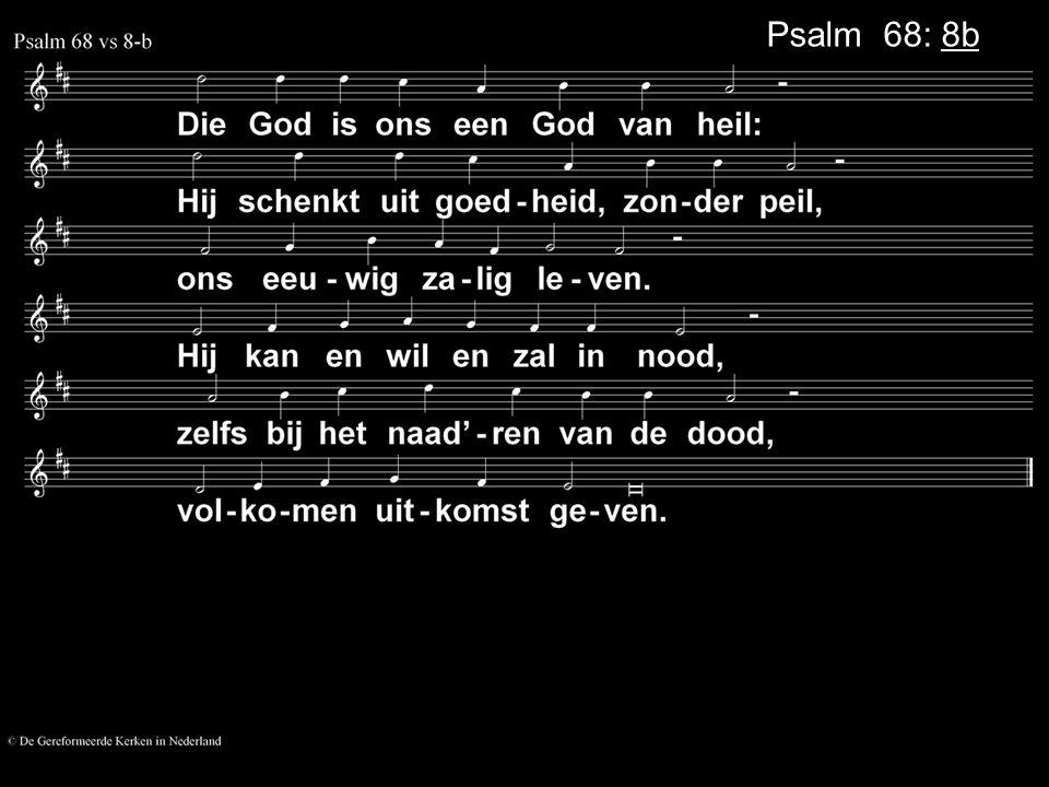 Psalm 68: 8b