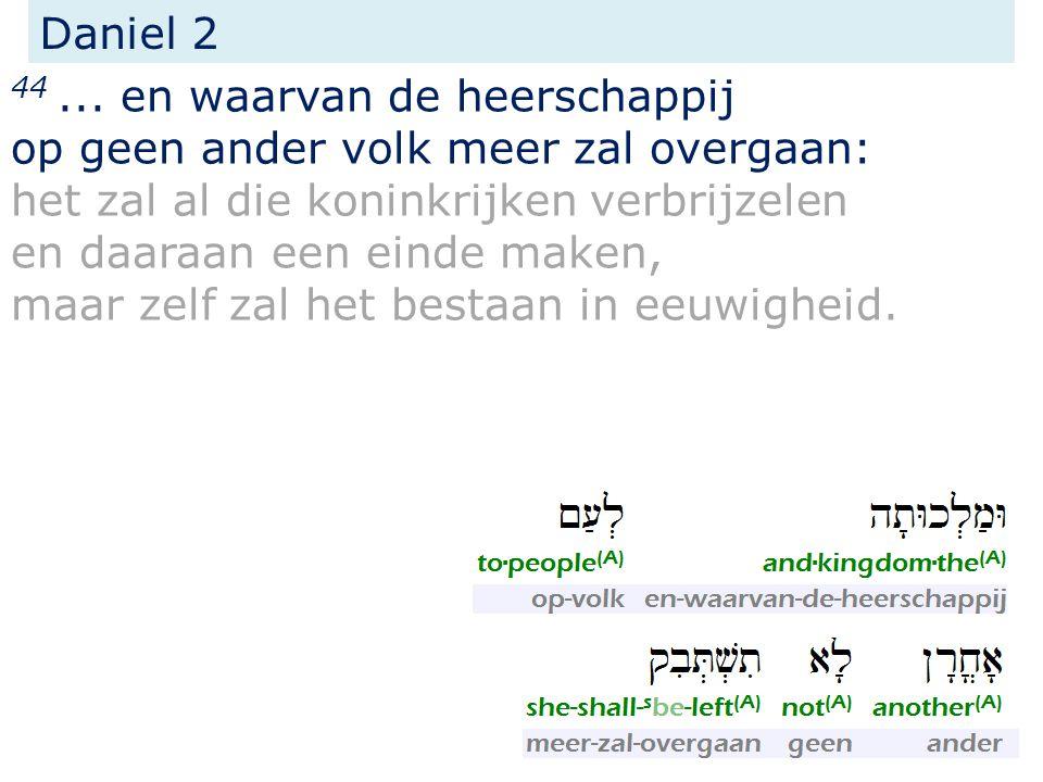 samenvatting het Evangelie van het Koninkrijk  gepredikt aan en voor Israël;  begeleid door krachten en tekenen;  gepredikt in de tijd van het einde (van deze aeon).