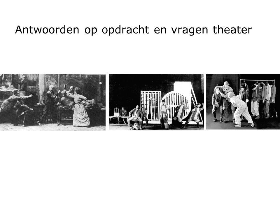 Naturalistisch theater Publiek moet geloven in illusie en meeleven met de rollen.