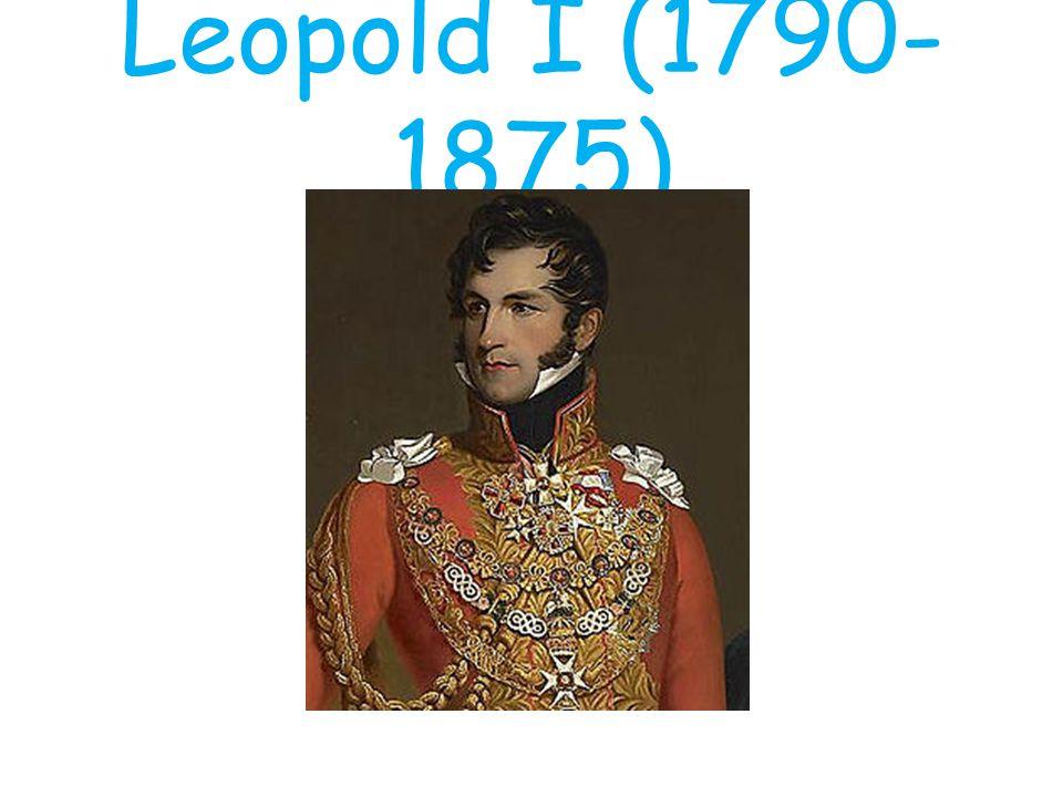 Leopold van Saksen-Coburg-Gotha Aanvaardbaar voor alle grote Europese mogendheden Familiebanden Russische tsaar en Engelse koningin Huwelijk Franse prinses Belofte katholieke opvoeding nageslacht