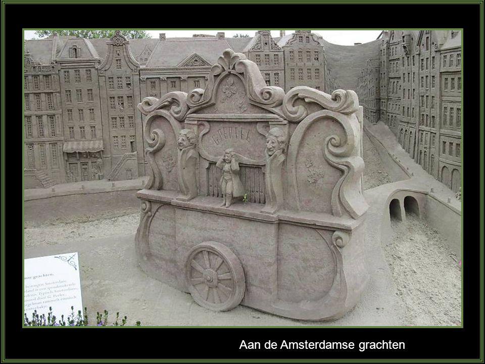 Aan de Amsterdamse grachten