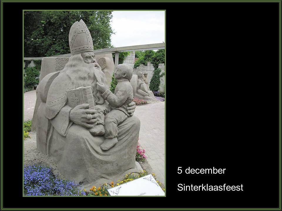 5 december Sinterklaasfeest