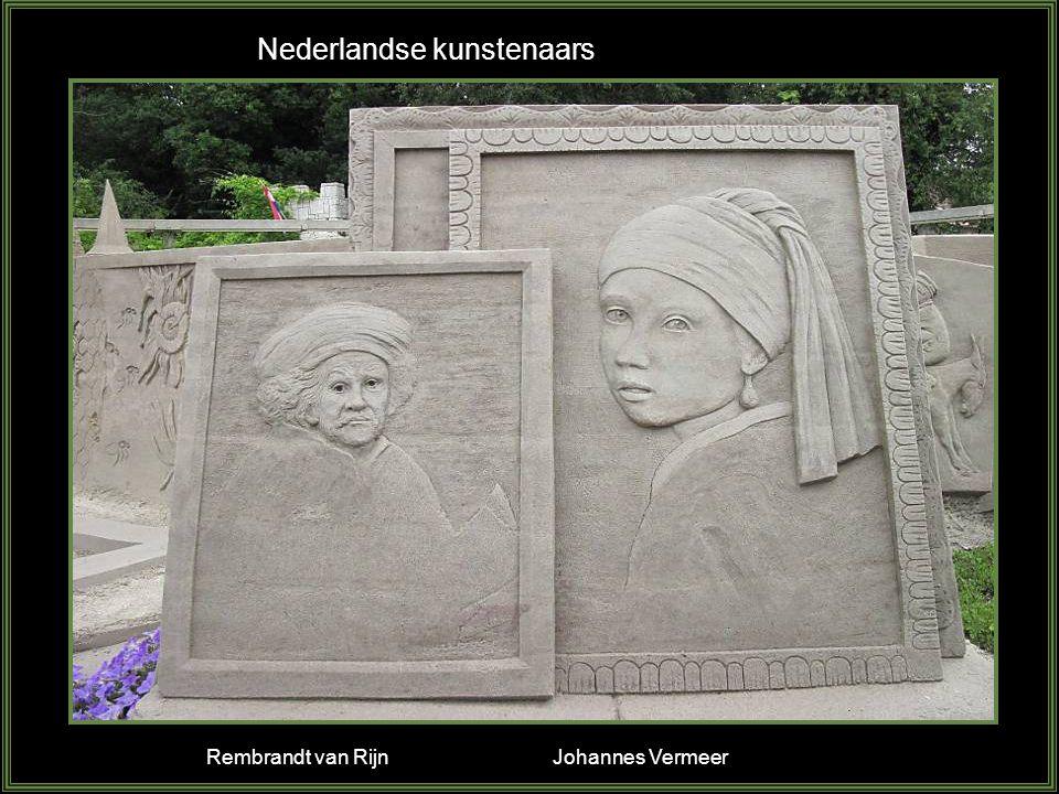 Nederlandse kunstenaars Rembrandt van Rijn Johannes Vermeer