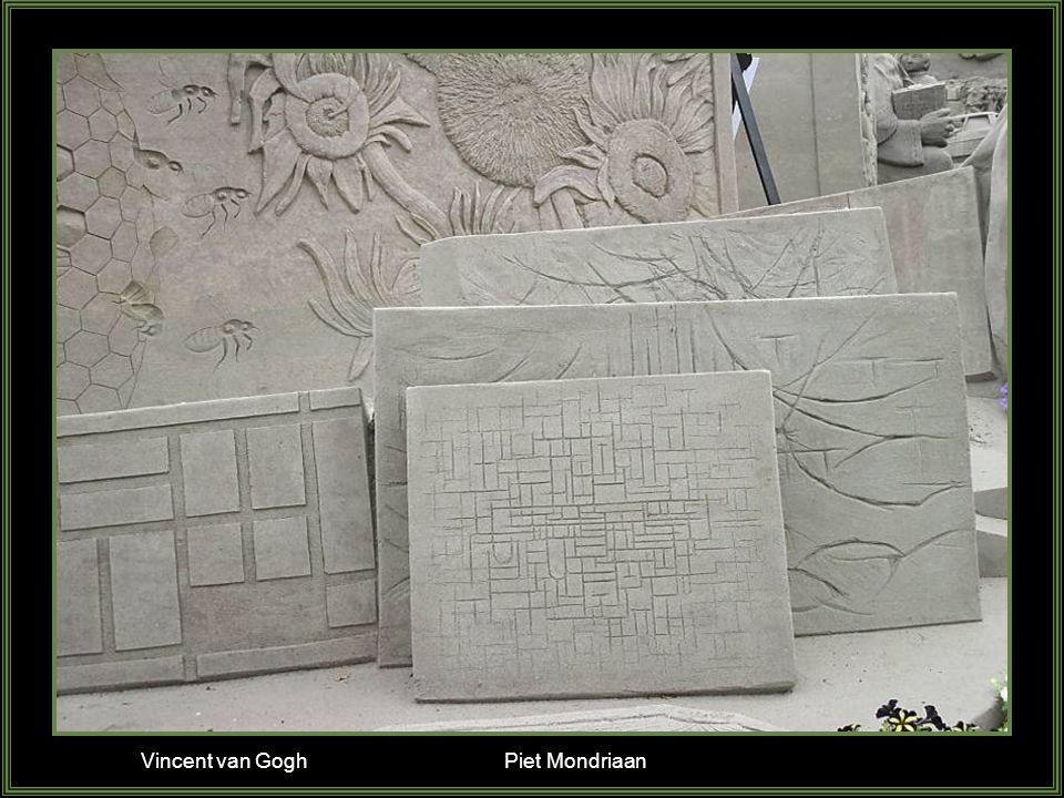 Vincent van Gogh Piet Mondriaan