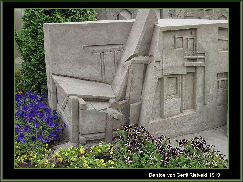 De stoel van Gerrit Rietveld 1919