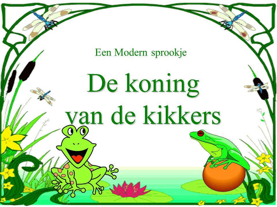 Een Modern sprookje De koning van de kikkers