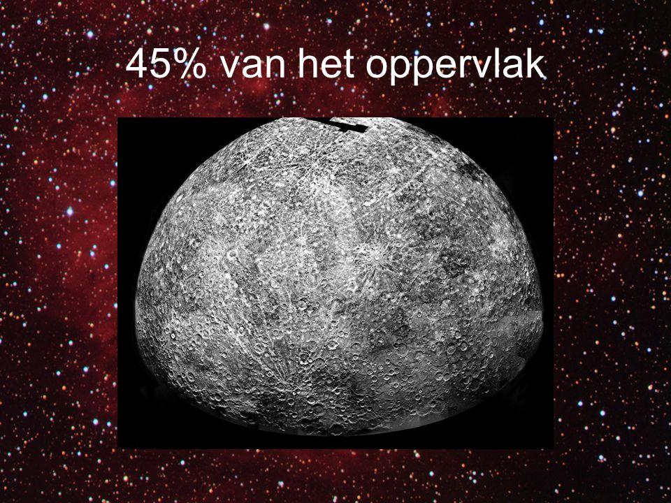 De vette shit van Mariner 10 Caloris Basin
