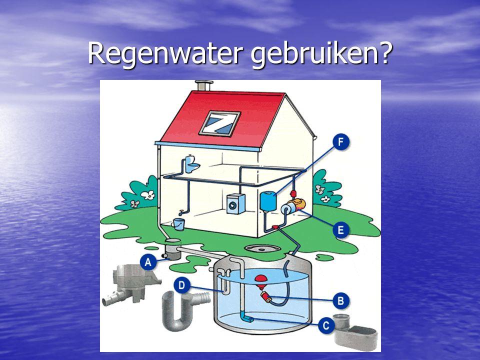 Regenwater gebruiken?