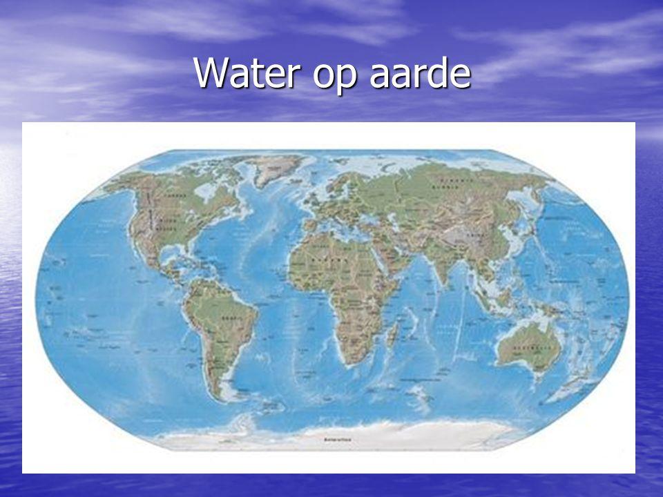Waarom zuinig zijn.3 % van het water op aarde is zoetwater.