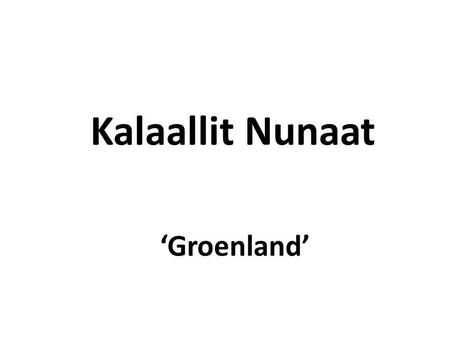 Kenmerken Grootste eiland ter wereld Voormalige kolonie van Denemarken Sinds 1979 onafhankelijk onderdeel van het Koninkrijk Denemarken Er wonen ±56000 mensen Hoofdstad is Nuuk 80% van het land is bedekt met een ijslaag Economie vooral op basis van visvangst en jacht