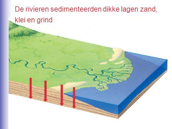 De ondergrond bestaat vooral uit zand.