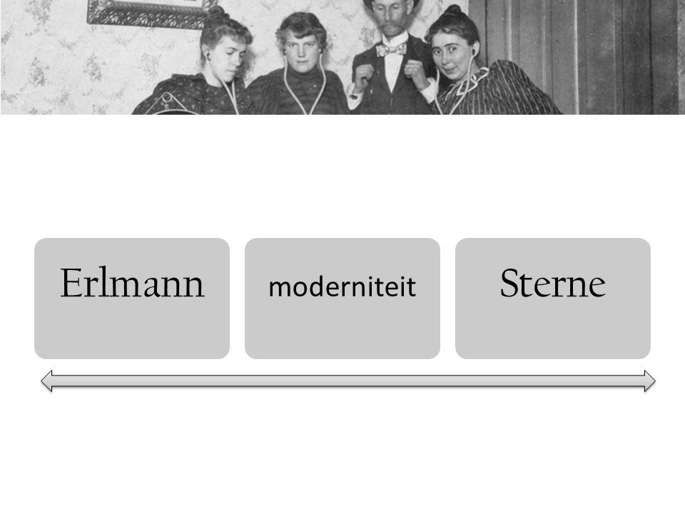Bijsterveld cultures of hearing  moderne structuren