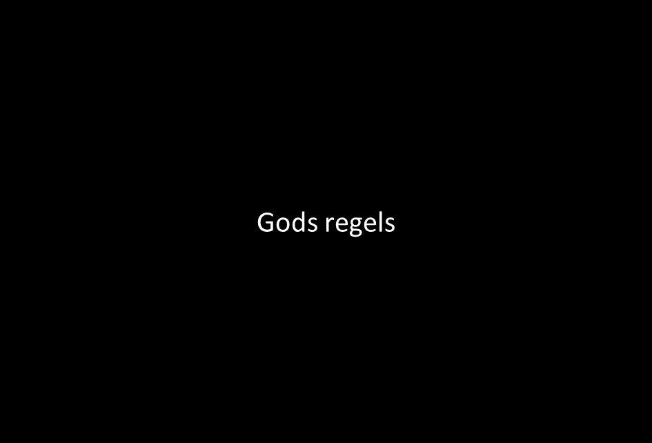 Gods regels