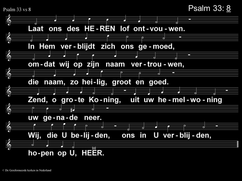 Psalm 33: 8