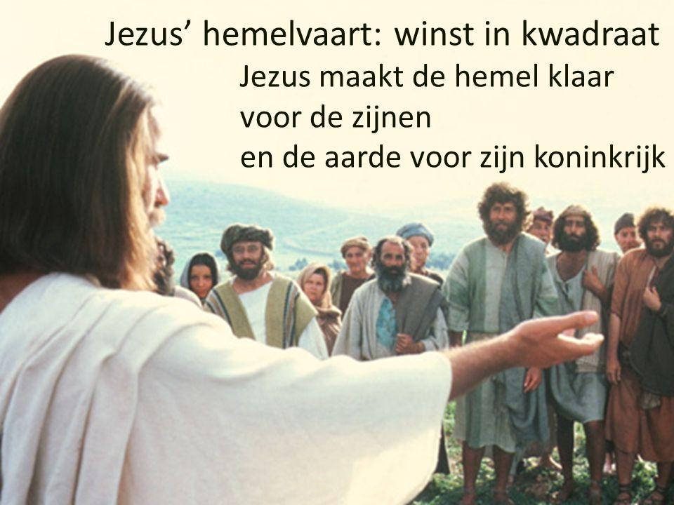 Jezus maakt de hemel klaar voor de zijnen en de aarde voor zijn koninkrijk