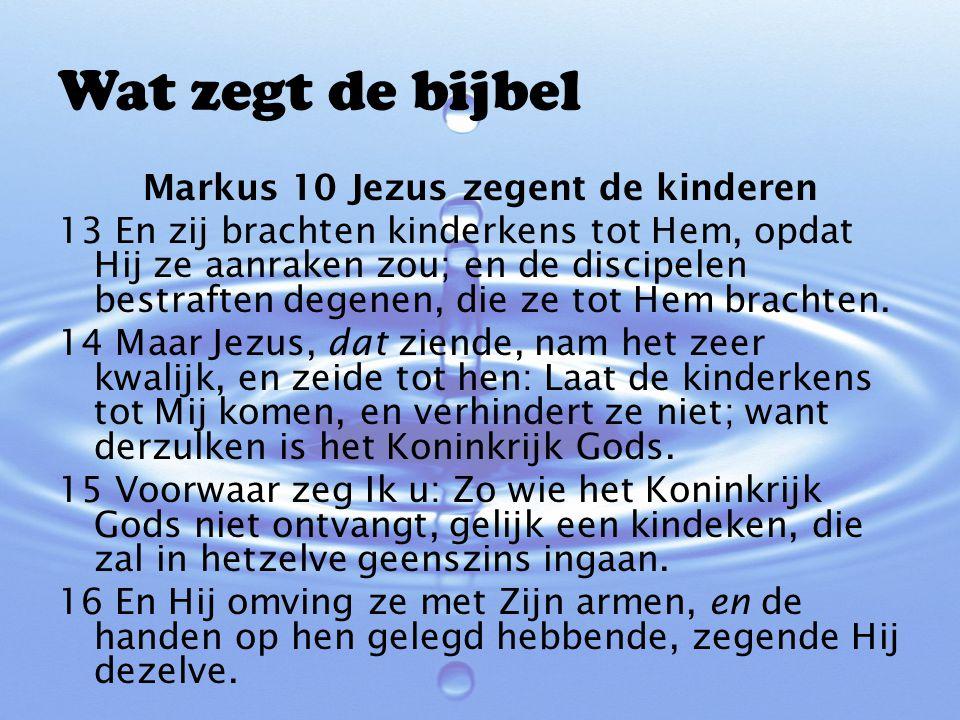 Vragen/Stellingen Heb je een doopnaam….Waarom…. Mooi dat ik gedoopt ben….
