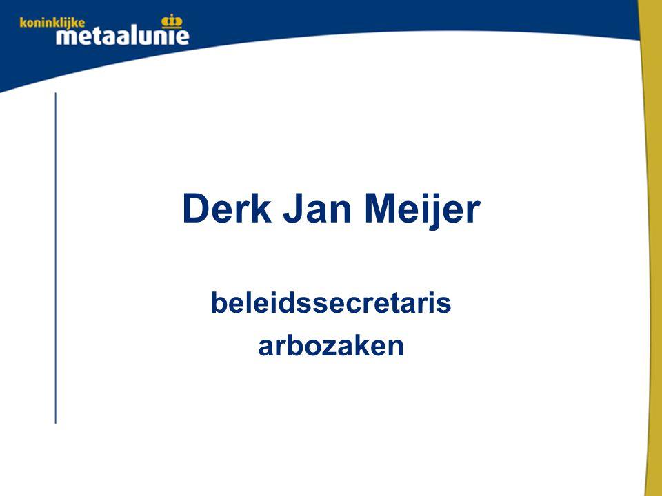 Derk Jan Meijer beleidssecretaris arbozaken