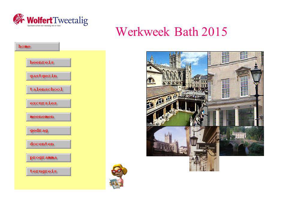 Werkweek Bath 2015