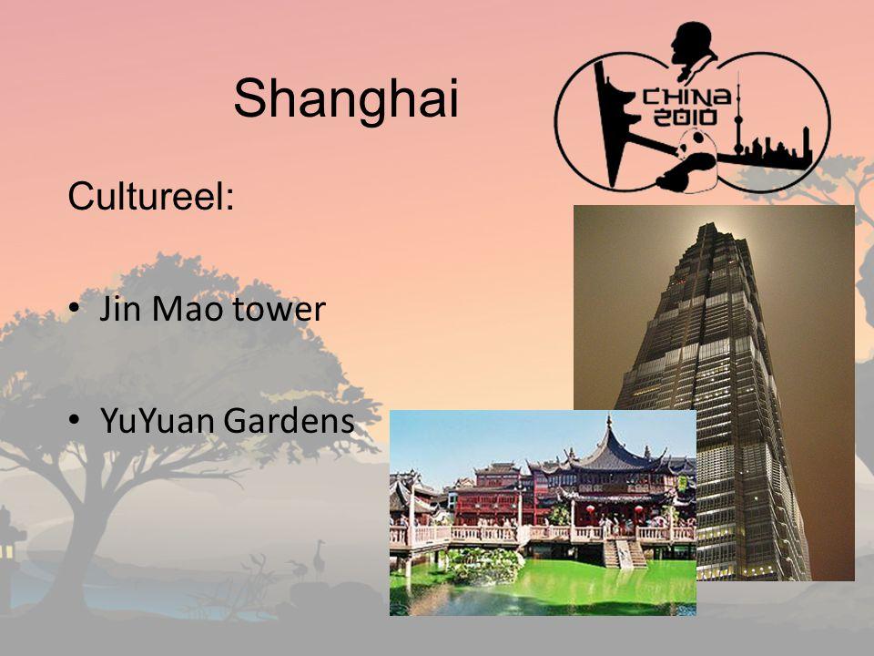 Shanghai Cultureel: Jin Mao tower YuYuan Gardens