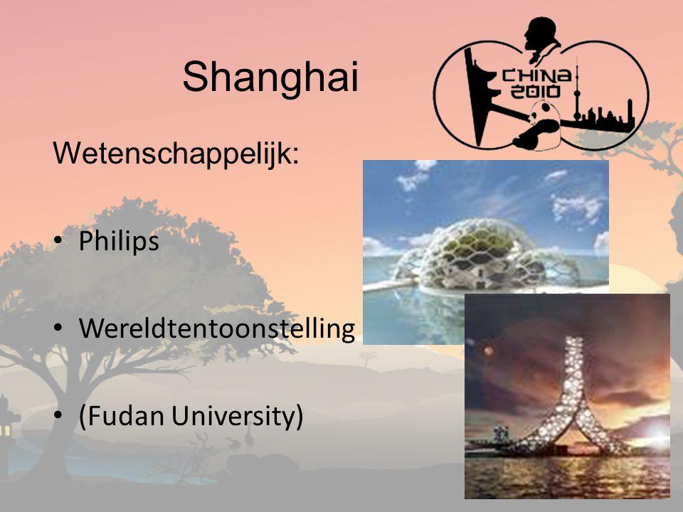 Shanghai Wetenschappelijk: Philips Wereldtentoonstelling (Fudan University)