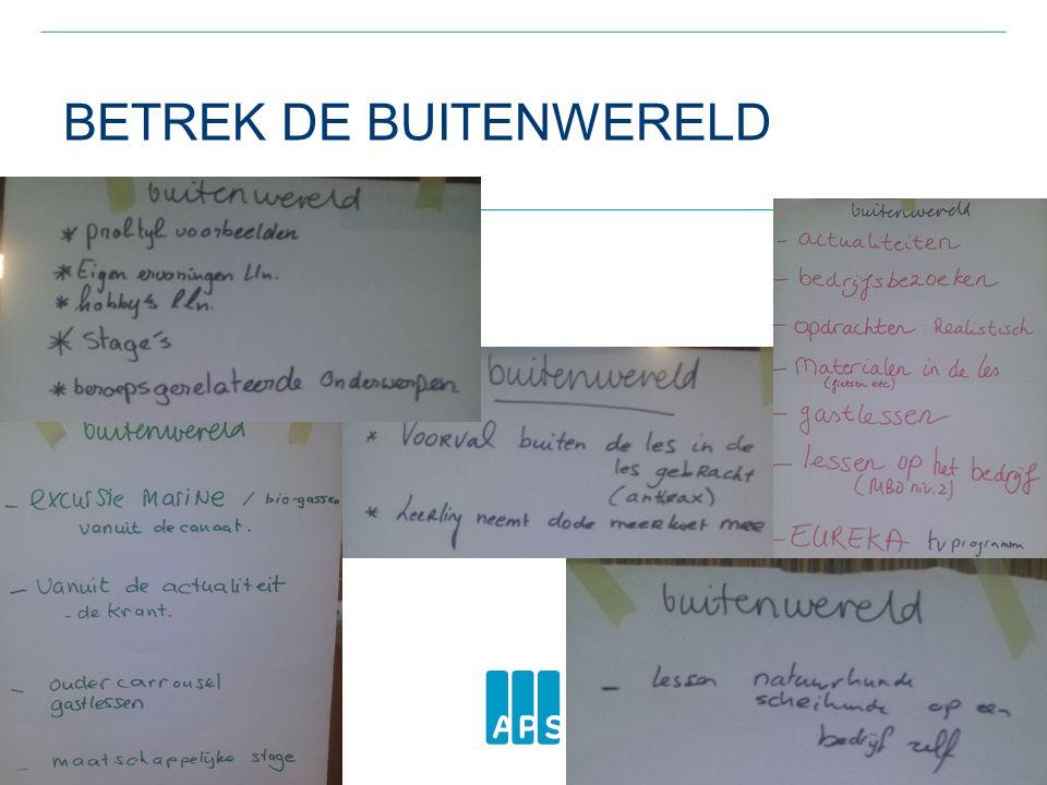 BETREK DE BUITENWERELD