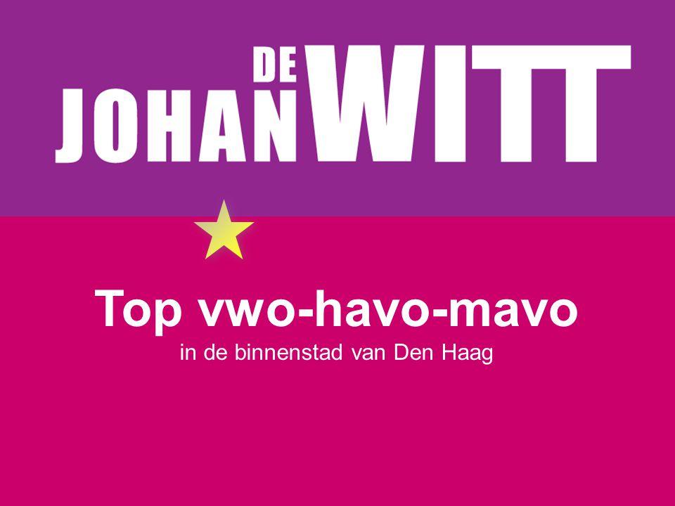 Top vwo-havo-mavo in de binnenstad van Den Haag