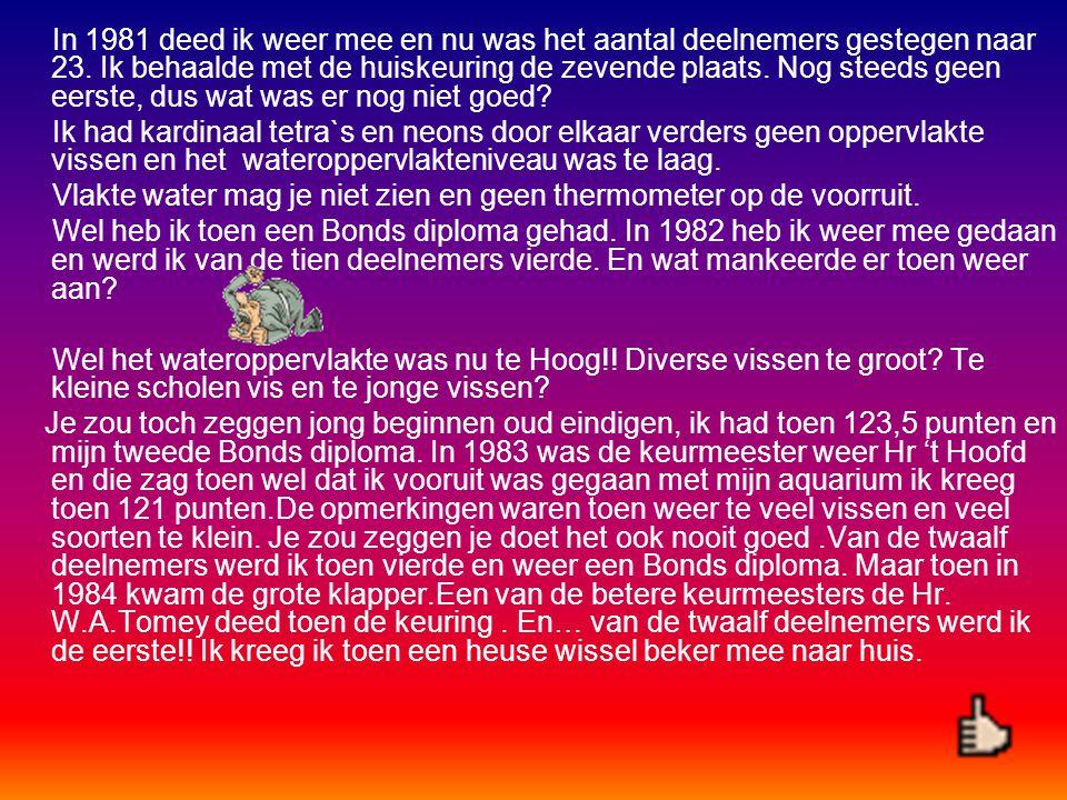 Op een zeker avond, dat was in 1980, vroeg onze toenmalige voorzitter Piet van Vliet wie er mee wilde doen met de huiskeuring.