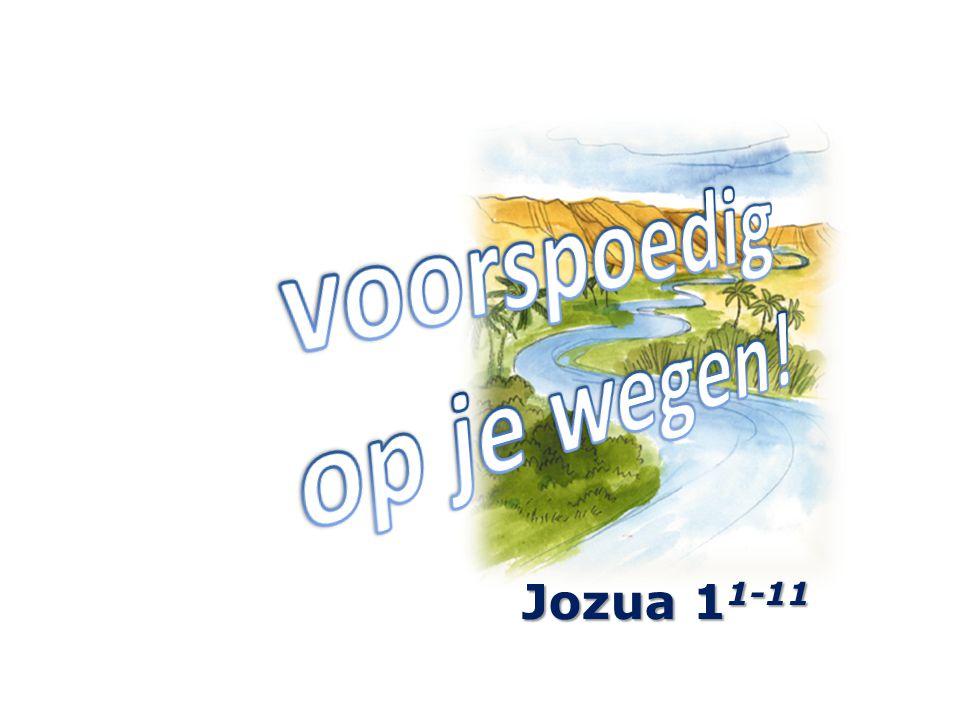 Jozua 1 1-11
