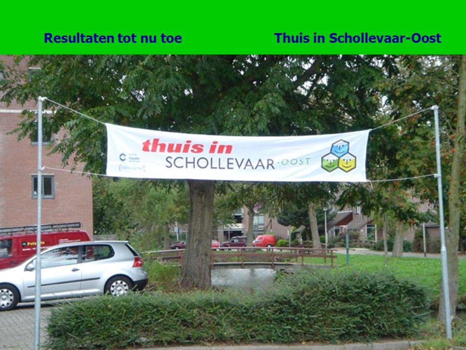 Thuis in Schollevaar-OostResultaten tot nu toe