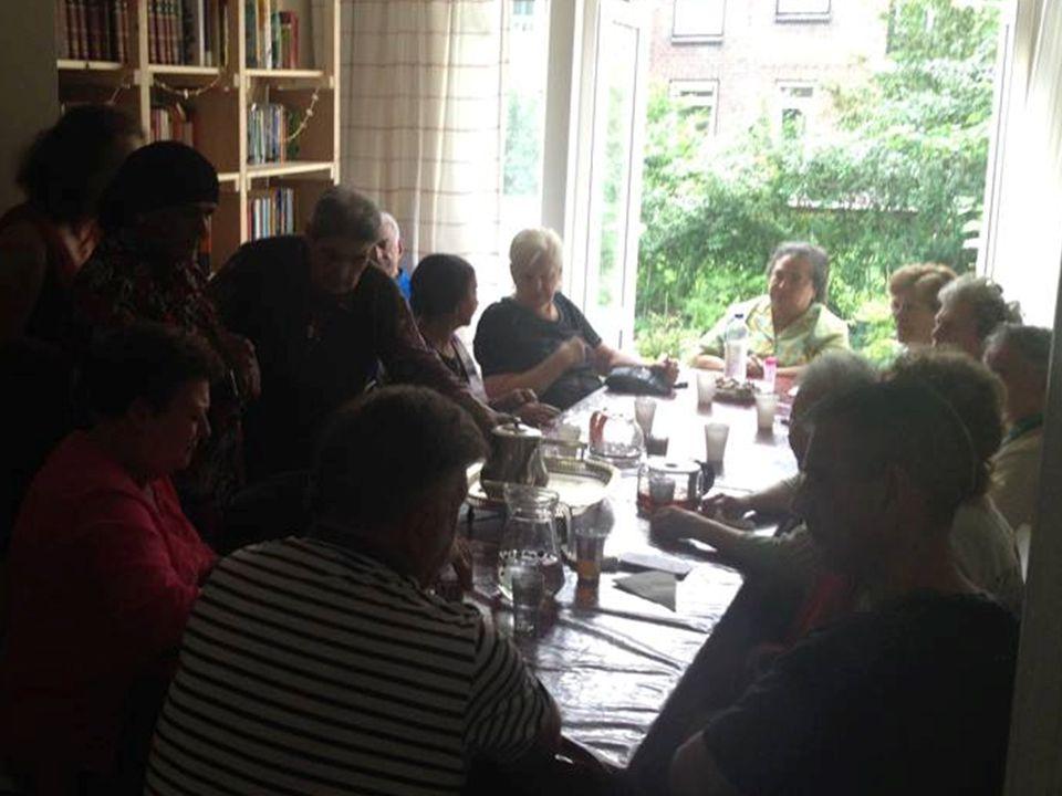 -223 maaltijden onder de vlag 'Aanschuiven!' georganiseerd -17 eetplekken hieraan deelgenomen -ca.