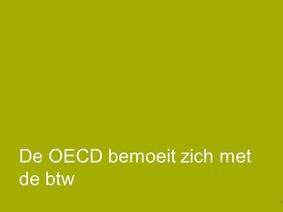 De OECD bemoeit zich met de btw 15
