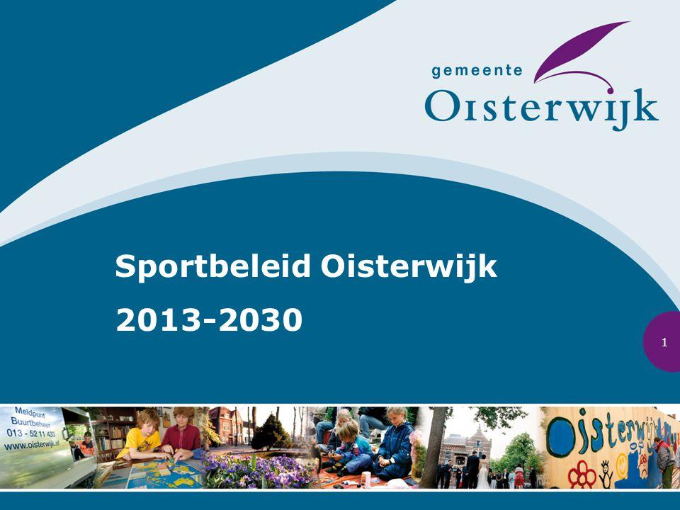 Sportbeleid Oisterwijk 2013-2030 1