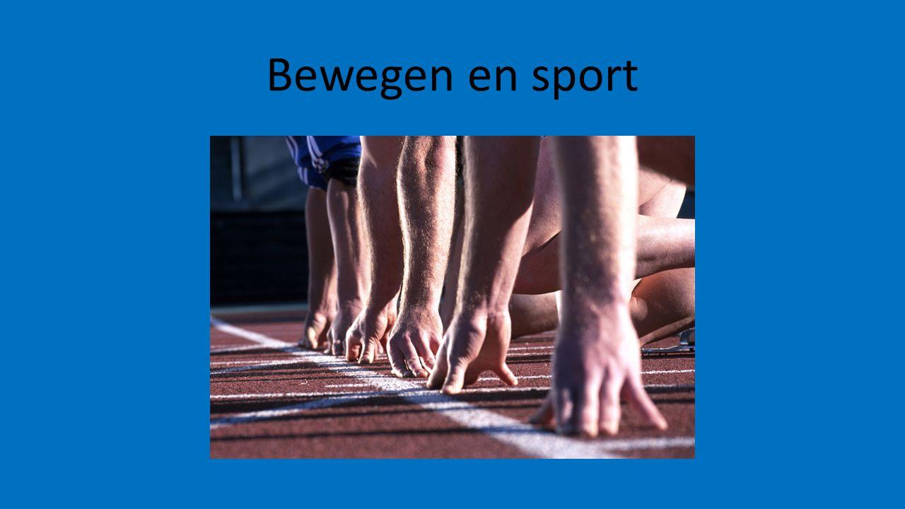 Bewegen en sport