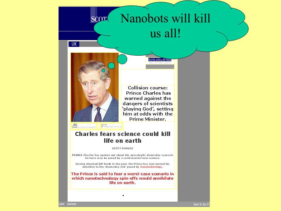 Nanobots will kill us all!