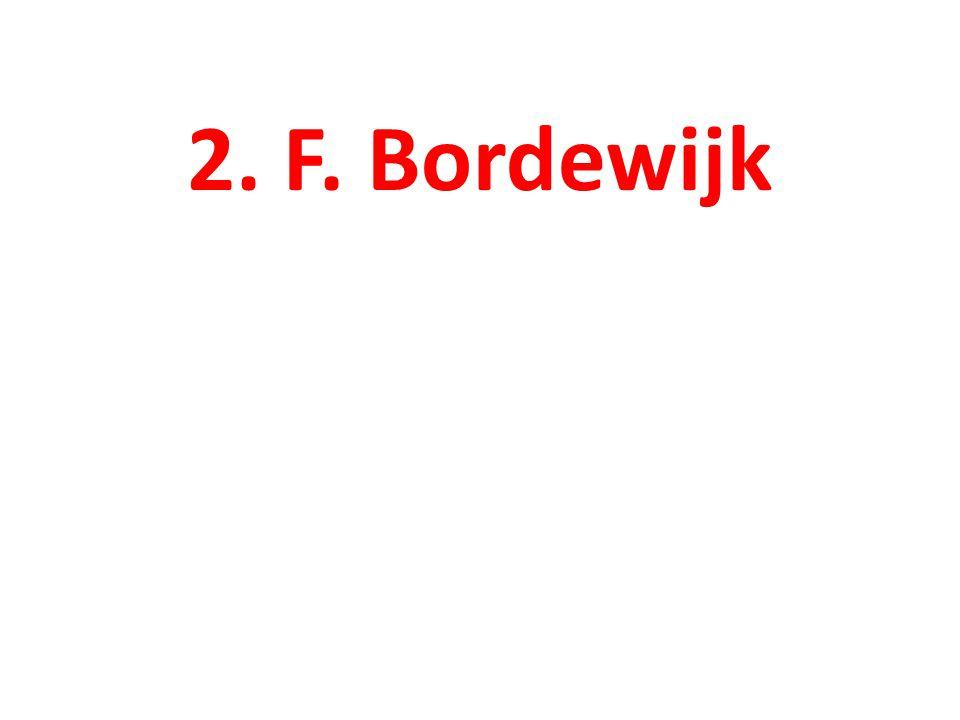 2. F. Bordewijk