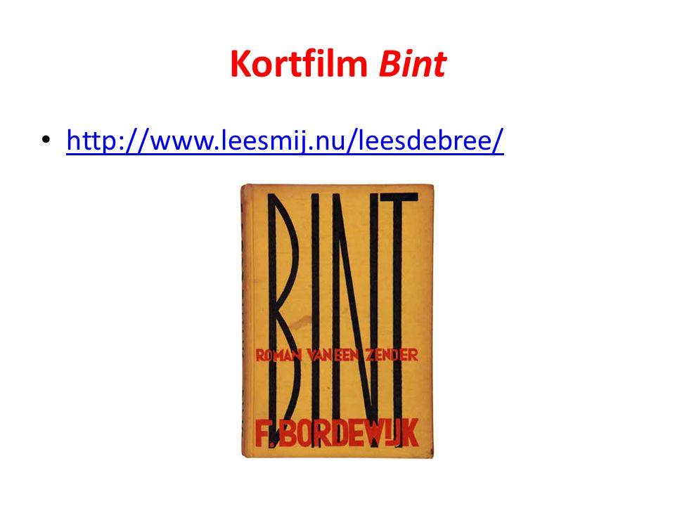 Kortfilm Bint http://www.leesmij.nu/leesdebree/