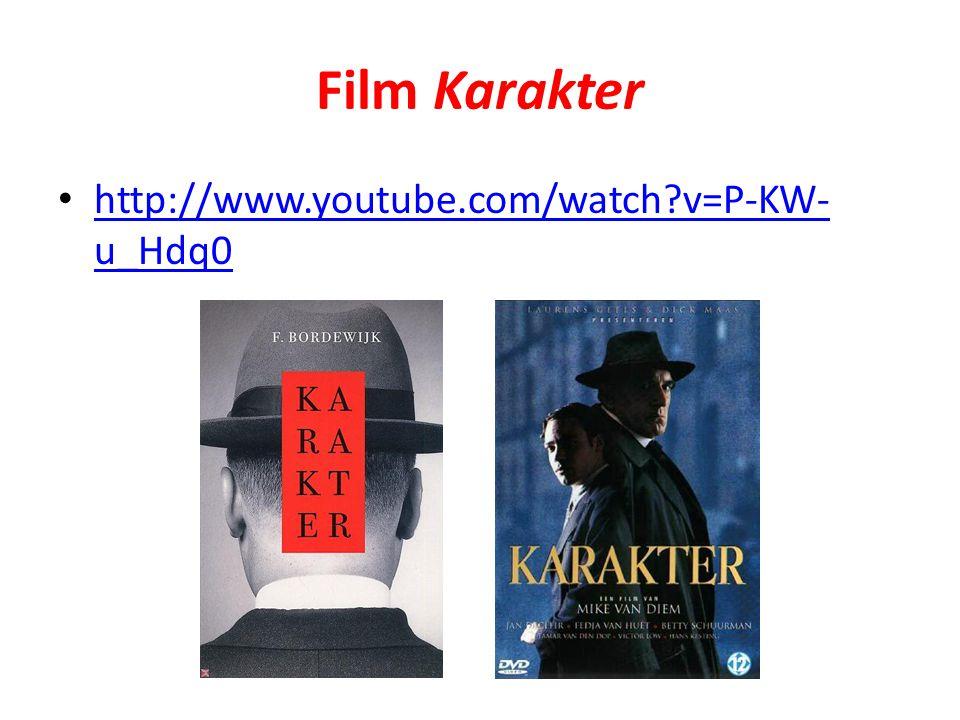 Film Karakter http://www.youtube.com/watch?v=P-KW- u_Hdq0 http://www.youtube.com/watch?v=P-KW- u_Hdq0