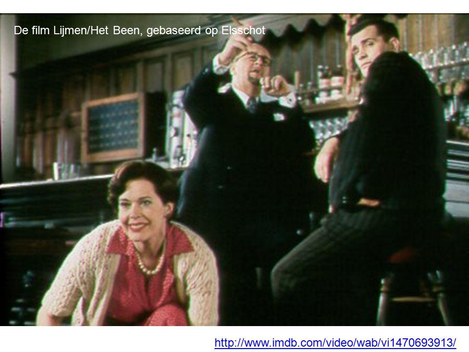De film Lijmen/Het Been, gebaseerd op Elsschot http://www.imdb.com/video/wab/vi1470693913/