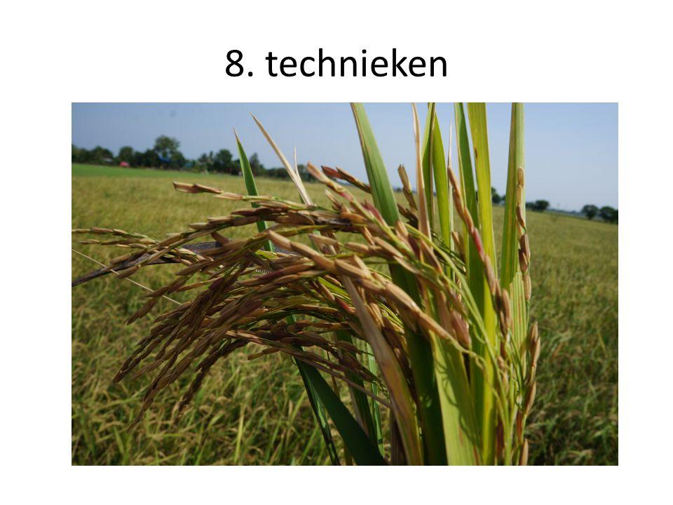 8. technieken