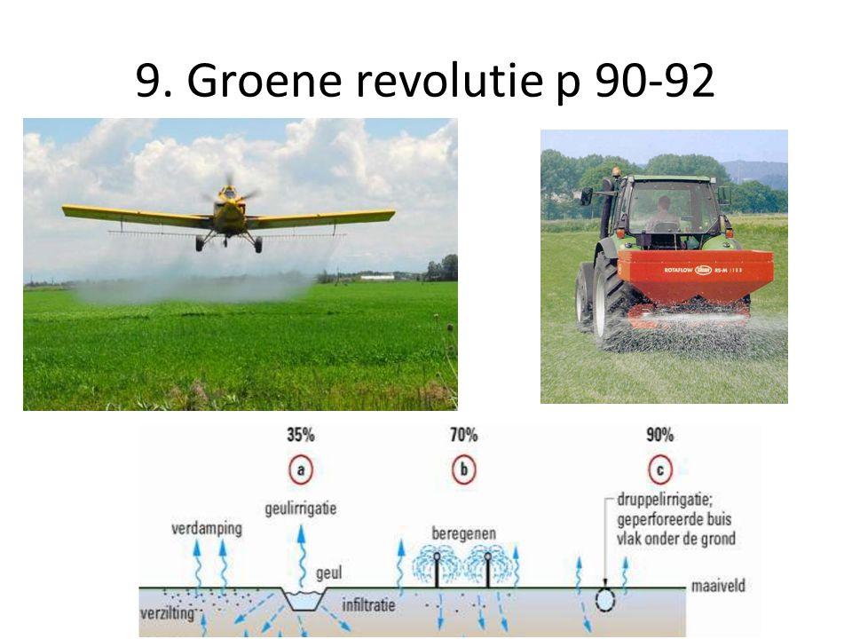 9. Groene revolutie p 90-92