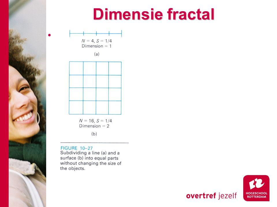 Dimensie fractal