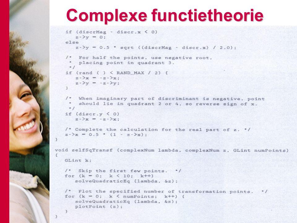 Complexe functietheorie