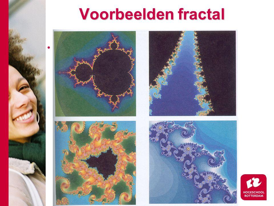 Voorbeelden fractal