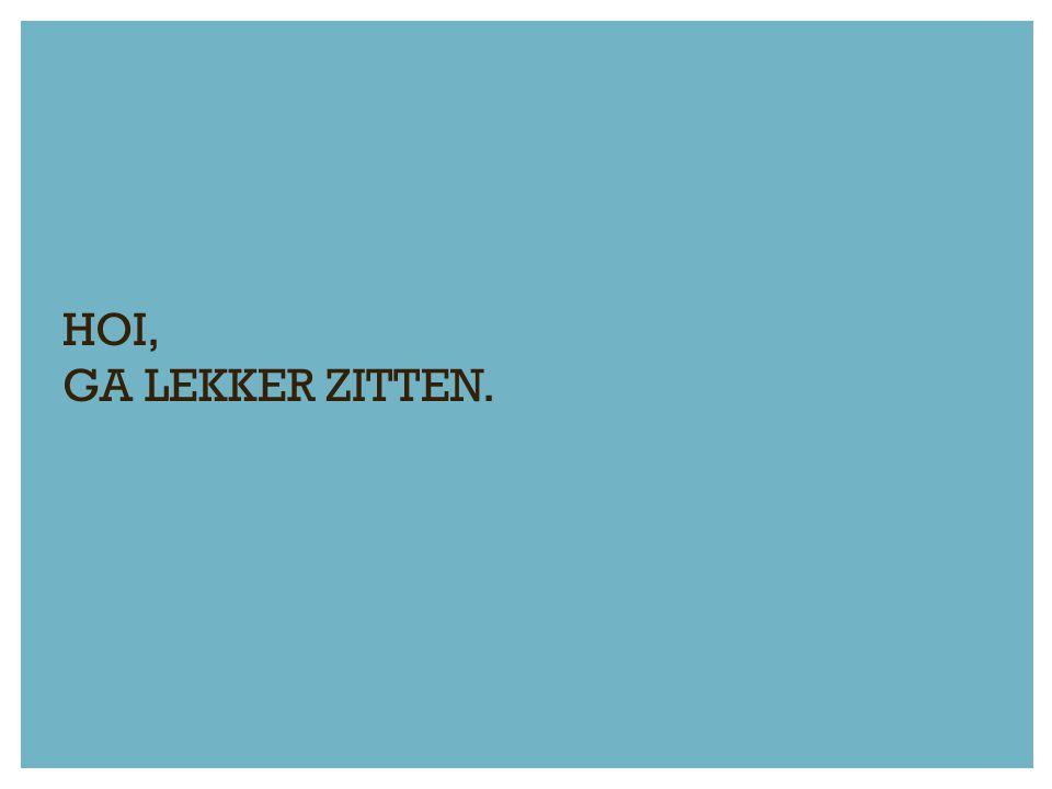 UITVOERING IS DE SLEUTEL!.