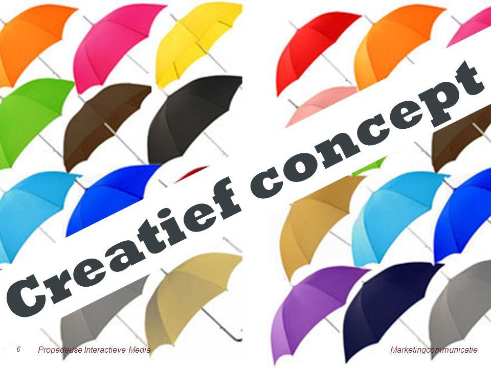 NOG ÉÉN KEER Creatief concept 6 Propedeuse Interactieve Media Marketingcommunicatie