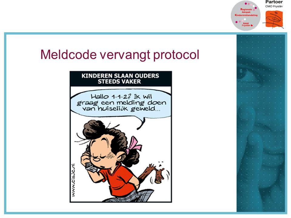 Meldcode vervangt protocol