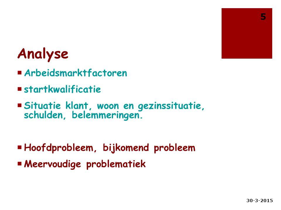 Analyse NAW gegevens Joey Ernesto Laan van Vlaanderen 12 1098 AD Amsterdam 19 jaar Reden komstaangemeld door de reclassering voor traject naar werk Huidige situatieHeeft geen werk of opleiding.